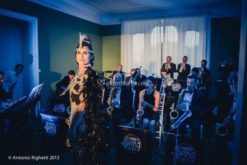 Swing Band Di Villa Frua Foto 55