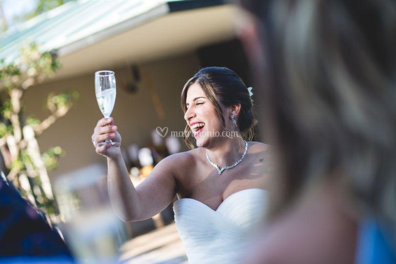 Brindisi per la sposa