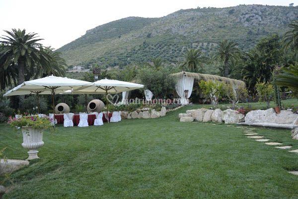 Paradiso di barchi for Decorazione giardino matrimonio