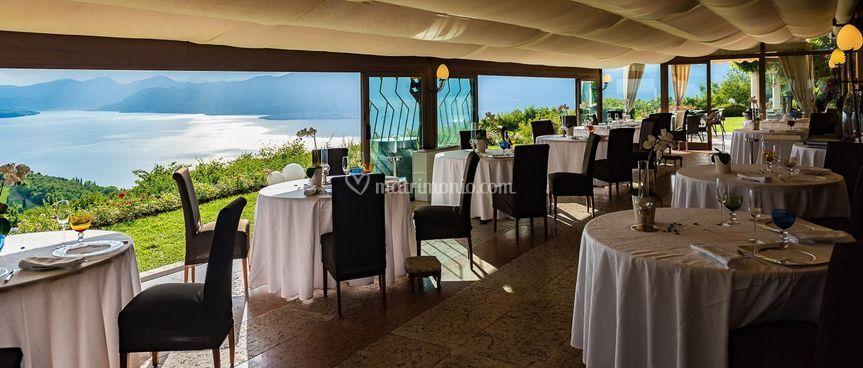 La bellissima sala ristorante