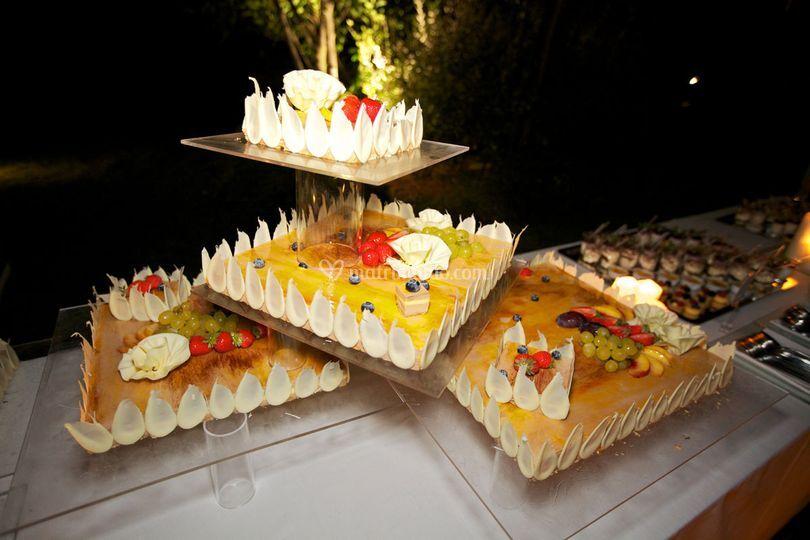 Tutto Frutta Cake Wedding