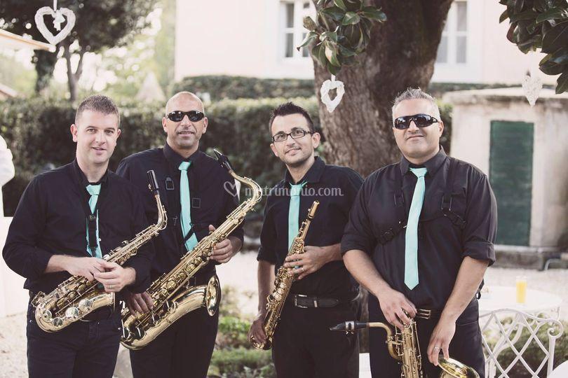 Sax quartet melodika