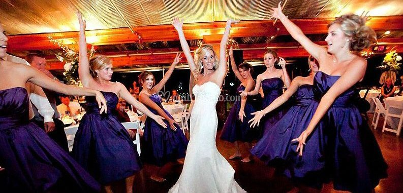 Bridal party...