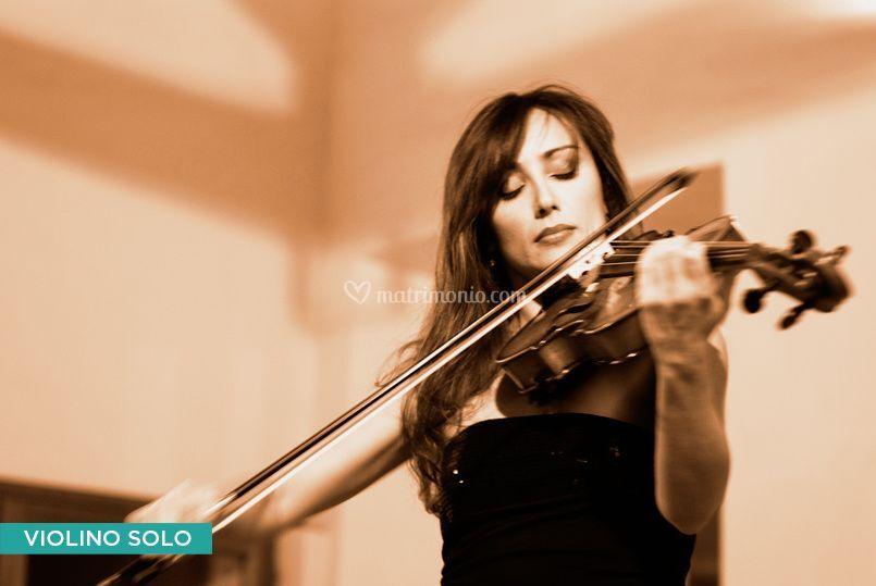 Violino, per la cerimonia...