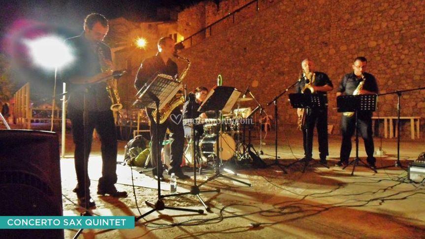 Quartetto sax e percussioni