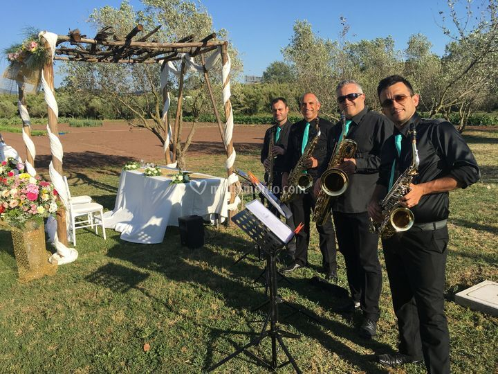 Cerimonia civile (sax quartet)