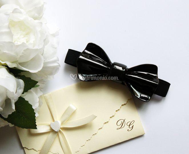Papillon ceramica nero