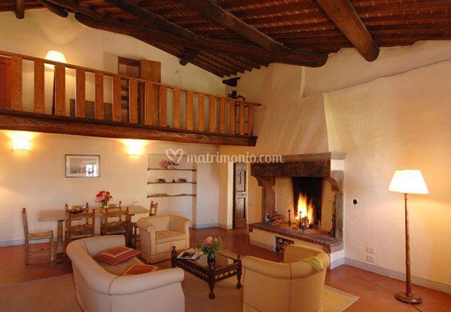 Sala Castello di Gargonza