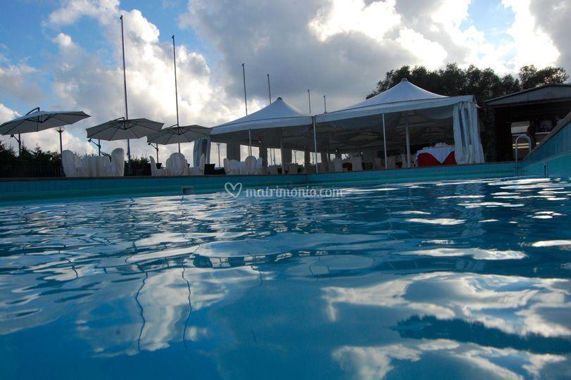 Si può usufruire della piscina