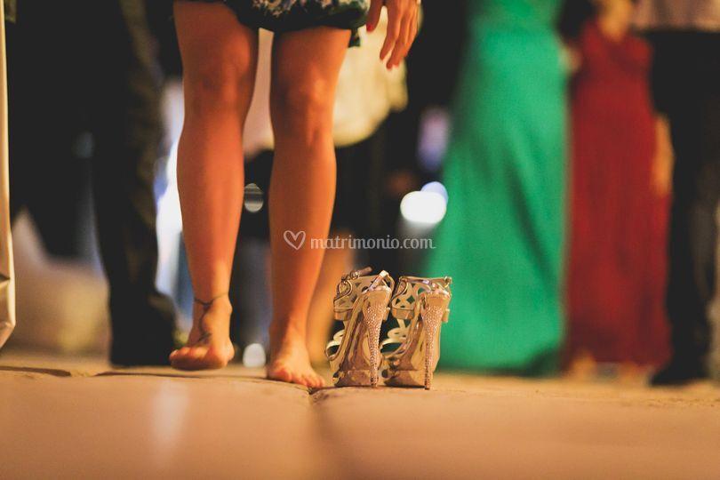 Matrimonio festa serale