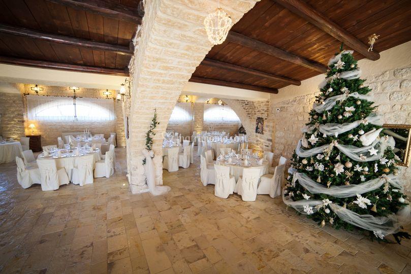Le Querce Di Mamre.Christmas Wedding Di Le Querce Di Mamre Foto 31
