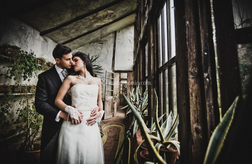 Sposi in serra
