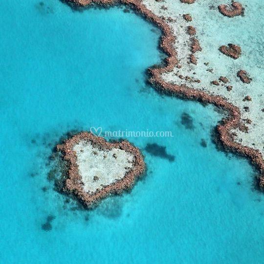 Heart reef - australia