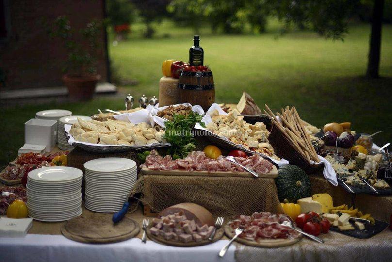 Buffet Rustico Matrimonio : Buffet rustico di pasticceria antoniazzi foto