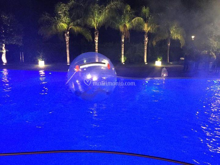 Effetti : palla galleggiante