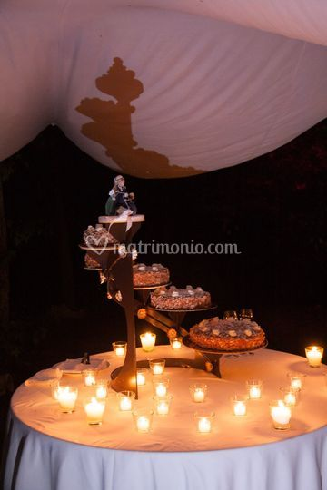 Wedding cake M+M
