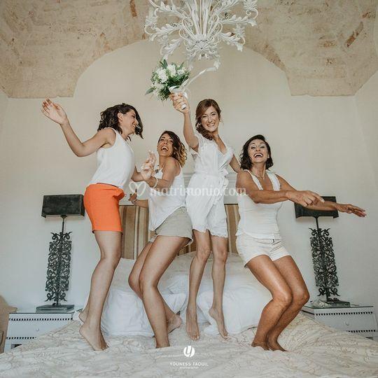 E&T Wedding  bridesmaids