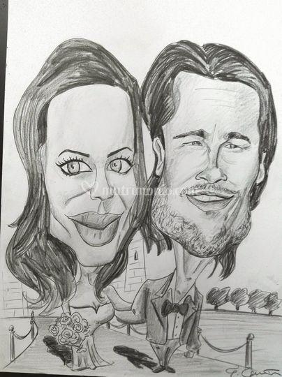 Angelina Jolie e Bred Pitt