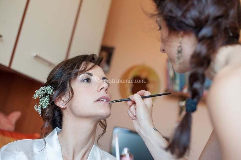 Make- up leggero toni chiari