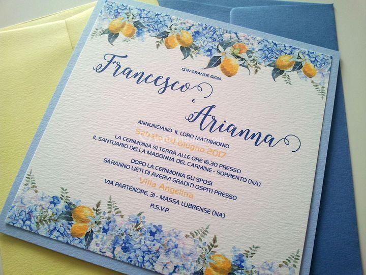 Matrimonio Tema Amalfi : Design di eventi