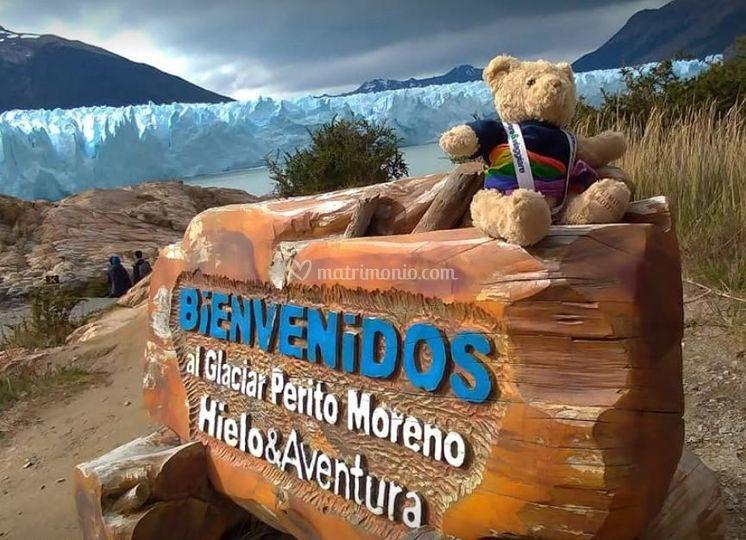 Con voi al Perito Moreno