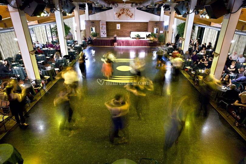 Sala grancon ballo organizzato
