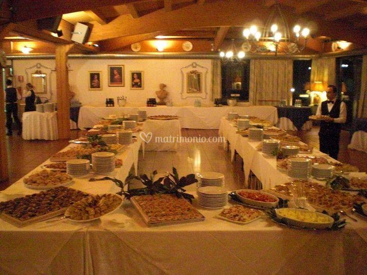 Tavolo imperiale  del Buffet