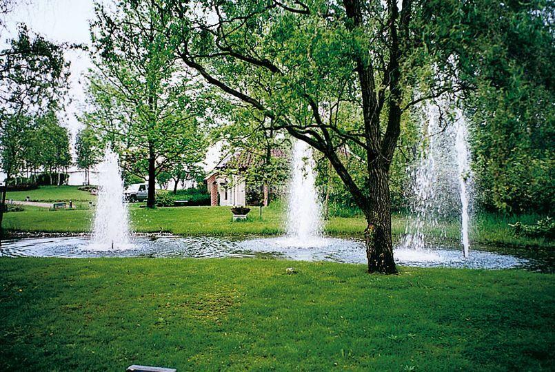 Laghetto  delle tre fontane