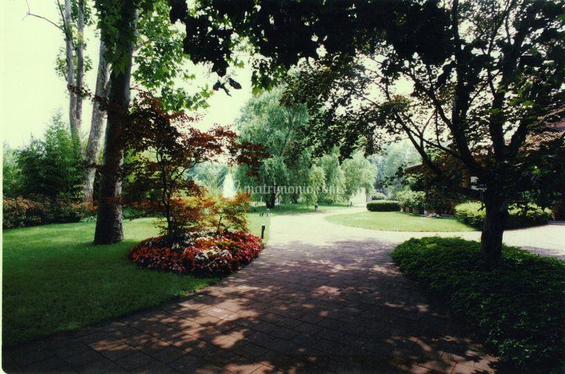Parco e vialetto