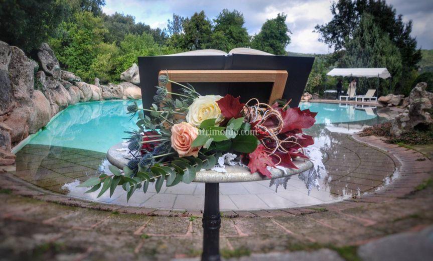 Cerimonia bordo piscina