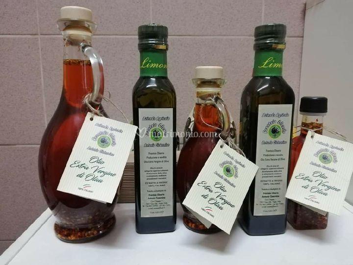 I nostri oli aromatizzati