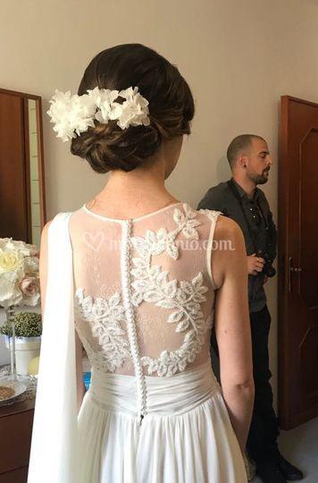 Sposa floreale