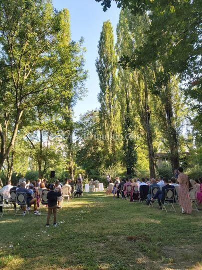 Cerimonia simbolica nel Parco