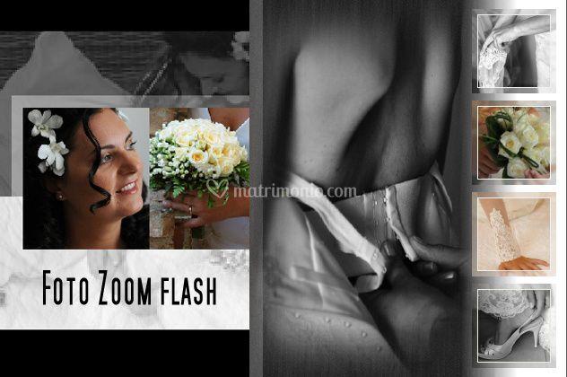 Logo foto zoom flash