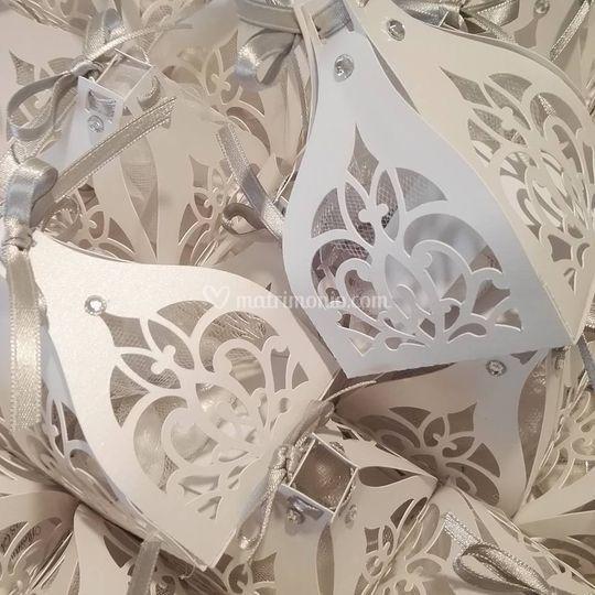 Scatoline portaconfetti intagl