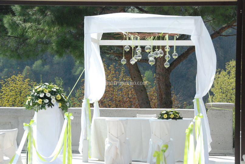 Cerimonia in Terrazza