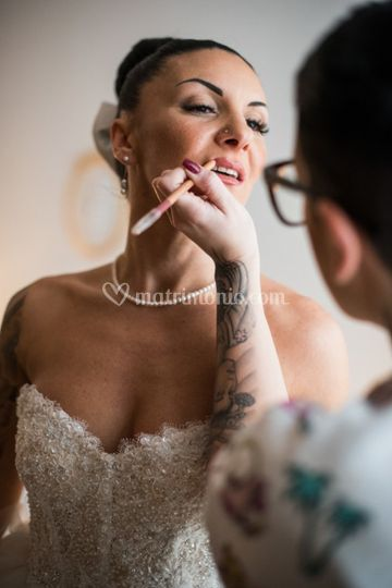 Make-ip sposa naturale