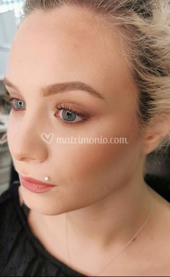 Make-up sposa naturale