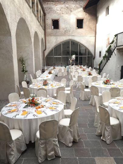 Allestimento Castel Mareccio