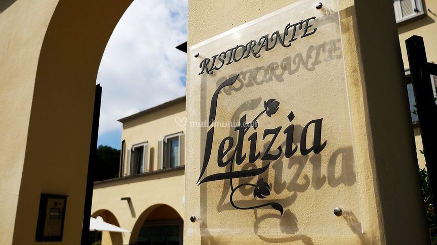 Logo Ristorante Letizia