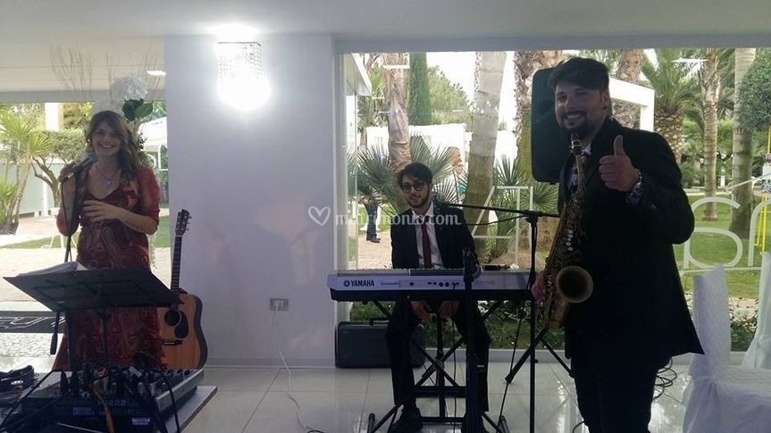 Trio jazz, piano e sax