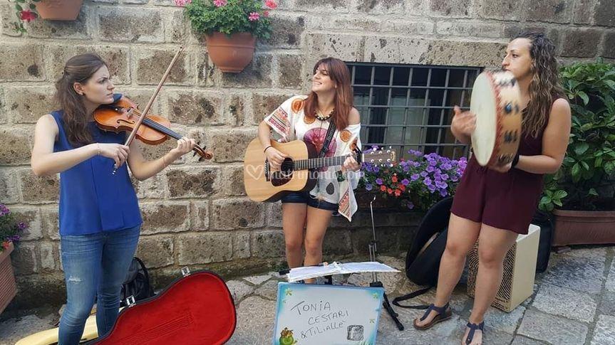 Trio con violino
