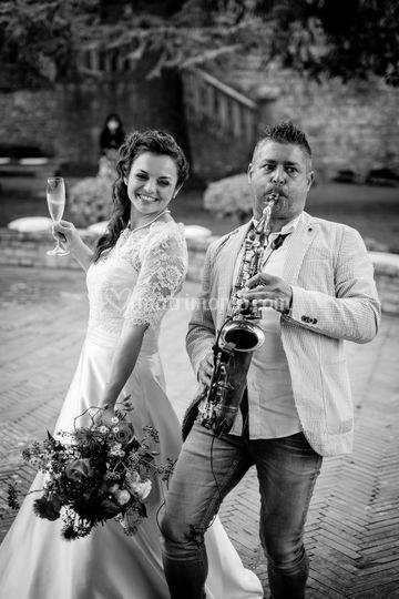 Sax & Wife