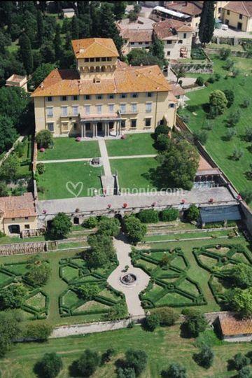 Villa Maiano - Giardini