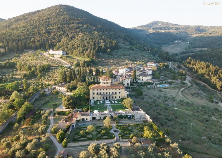 Villa di Maiano Panoramica