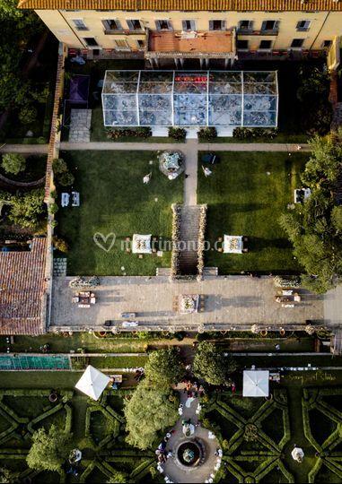 Giardino panoramico e terrazza