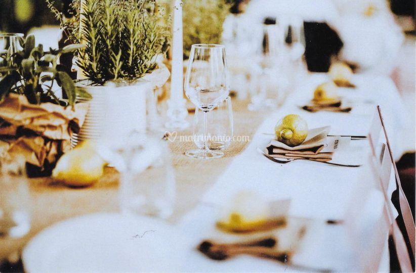 Matrimonio nell'orto