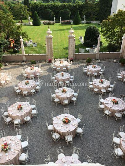 Matrimonio a Villa Labirinto