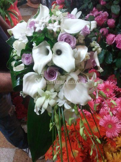 Bouquet variegato
