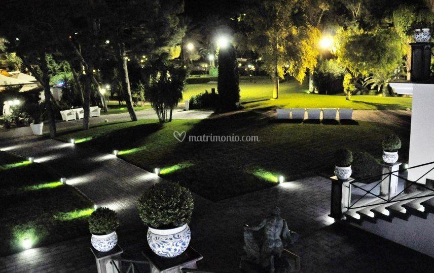 Prato in notturna